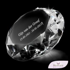 diamant met naam