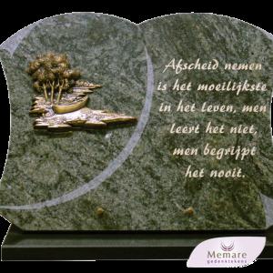 diverse granieten gedenktekens
