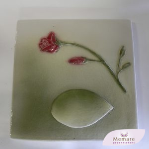 geboetseerde roos