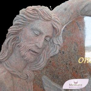 grafmonument met god