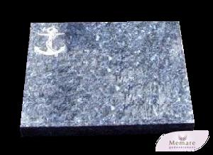 granieten zerk of plaat