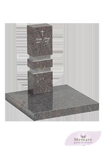 granieten zuil op een granieten grondplaat