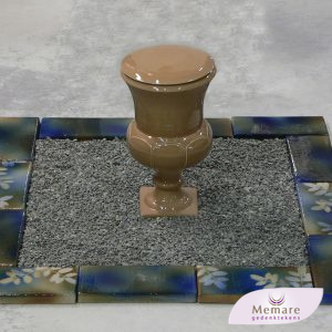 keramieken urn met omranding 4