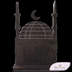 moskeemodel met minaretten