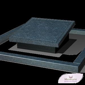zwart grijs graniet