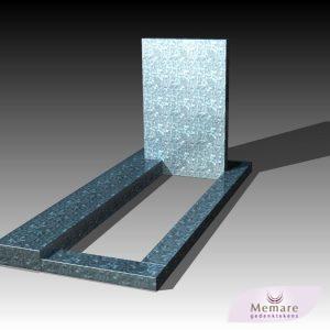 eenvoudig en klassiek in dark grey graniet E 195000
