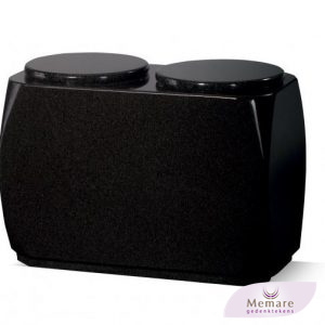 dubbele granieten urn