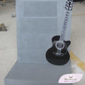 verheven gepolijste gitaar