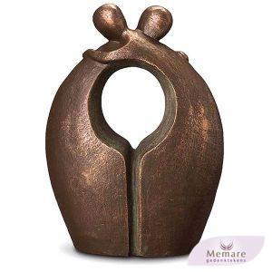 keramische duo urn afscheid 2 maal 3 liter